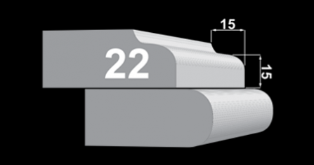 Edge Profile 22